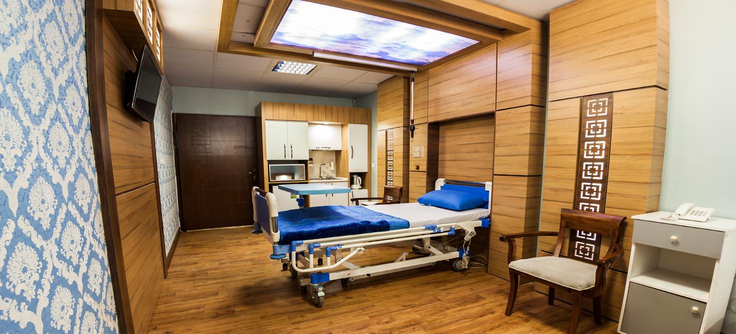 <span> اتاقهای vip بیمارستان</span>